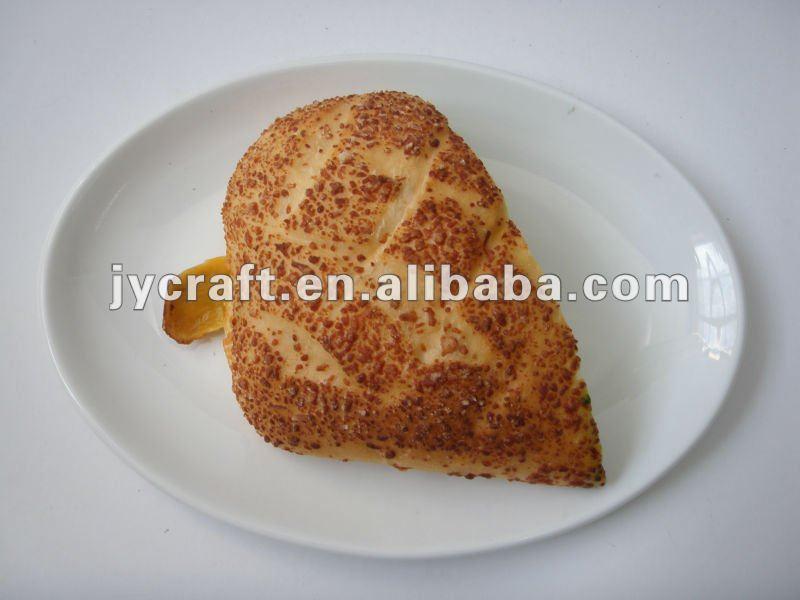 Simulation bread and hamburger artificial bread model for Artificial bread decoration