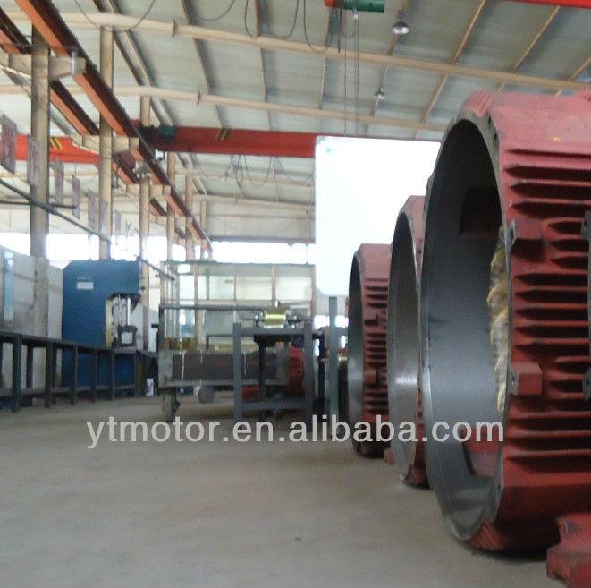 Y3 Series Big Power Three Phase Ac Induction Motor 500kw