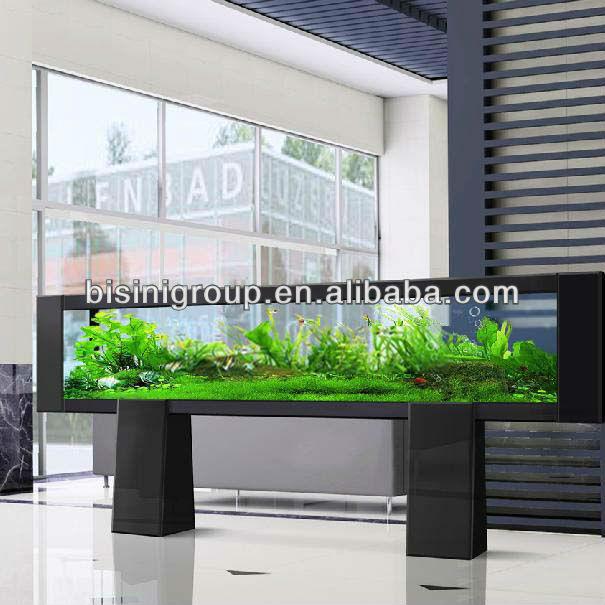 Bisini modern style luxury aquarium fish tank cabinet for Modern fish tanks