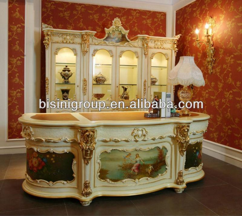 Bisini Furniture Luxury Office Desk Set Elegant Design