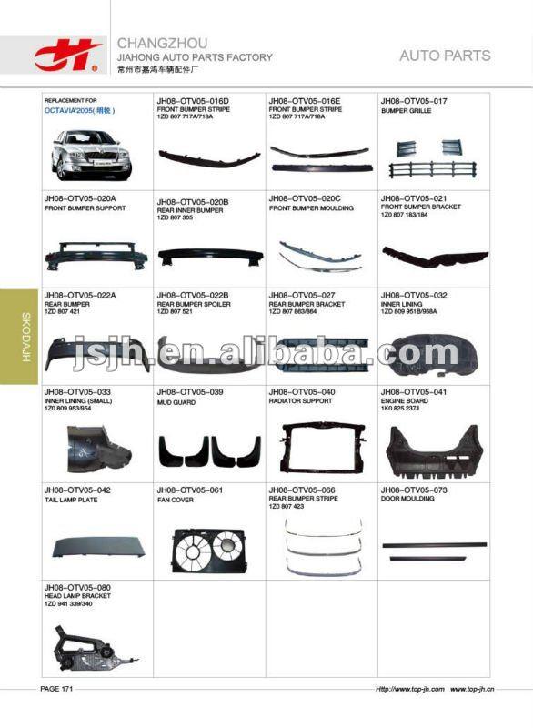 for skoda octavia 39 2005 spare parts buy for skoda octavia 39 2005 spare parts product on. Black Bedroom Furniture Sets. Home Design Ideas