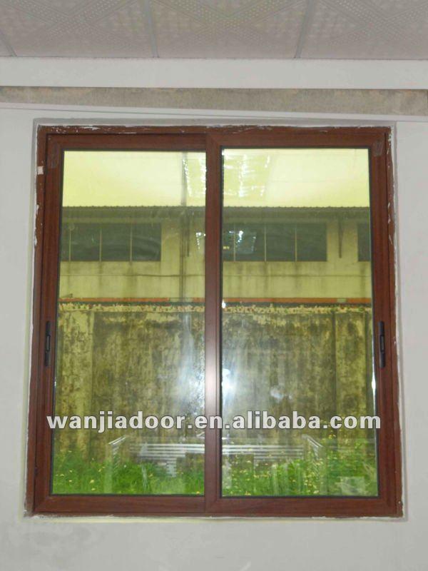 New design aluminium frame sliding glass window buy for New window frame designs