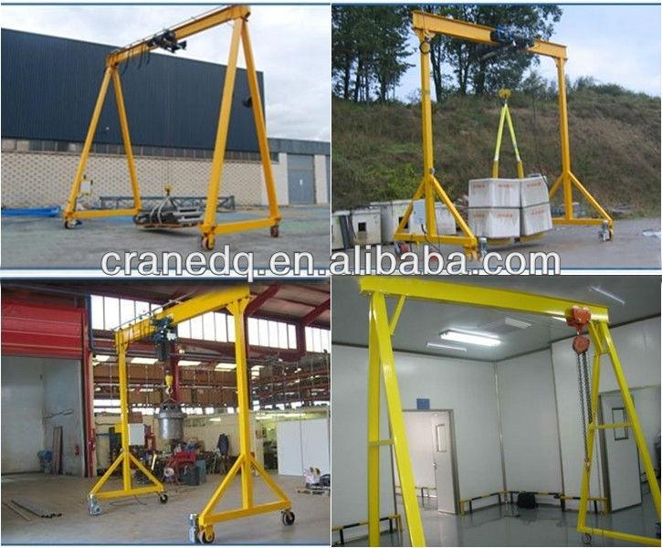 Mobile Gantry Crane Nz : Ton portable small lifting gantry used buy