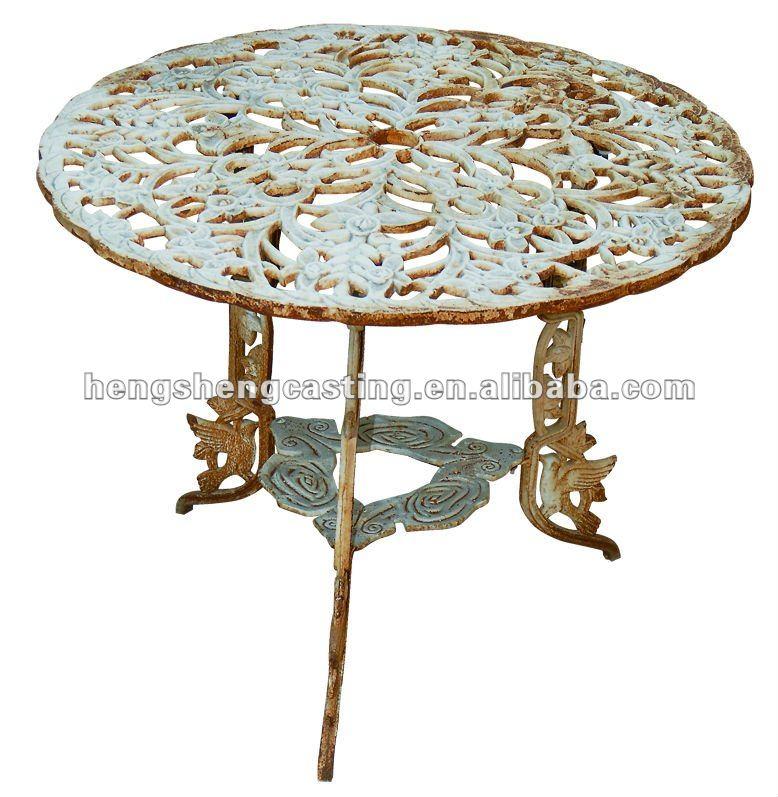 antike gusseisen gartenm bel tisch und stuhl buy product. Black Bedroom Furniture Sets. Home Design Ideas