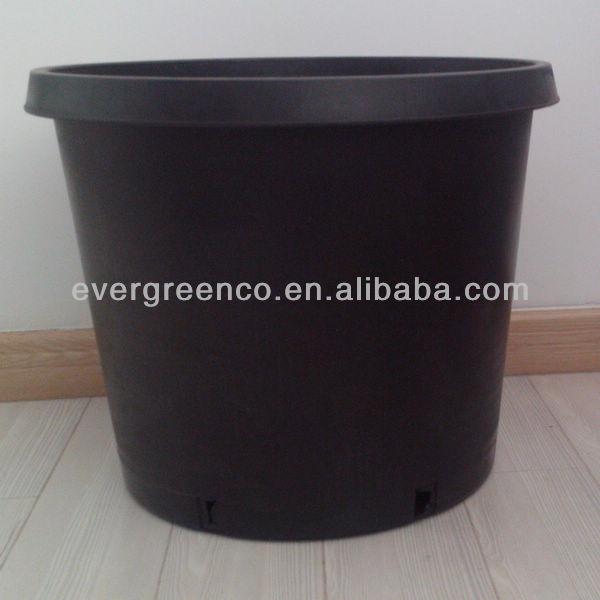 1 2 3 5 7 10 15 20gallon pp black plastic nursery flower pot garden plastic gallon flower pot. Black Bedroom Furniture Sets. Home Design Ideas
