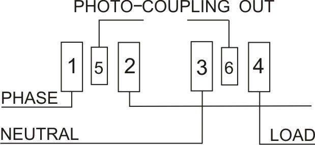 static single phase digital energy meter