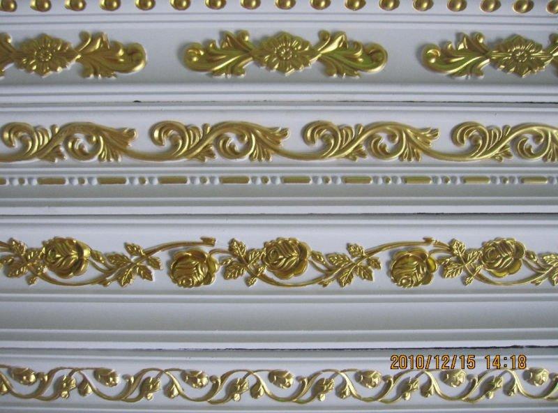Building Decorative Fiberglass Plaster Gypsum Cornice