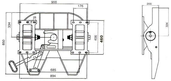 semi truck air brake diagram