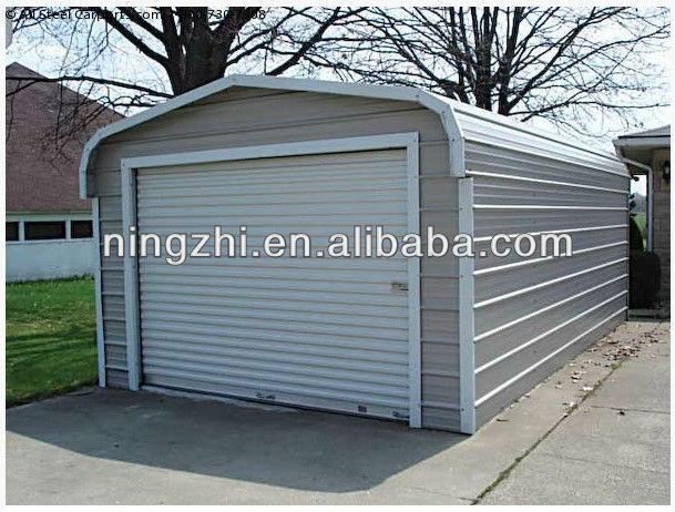 mobile garage two car garage sheet metal garage buy. Black Bedroom Furniture Sets. Home Design Ideas
