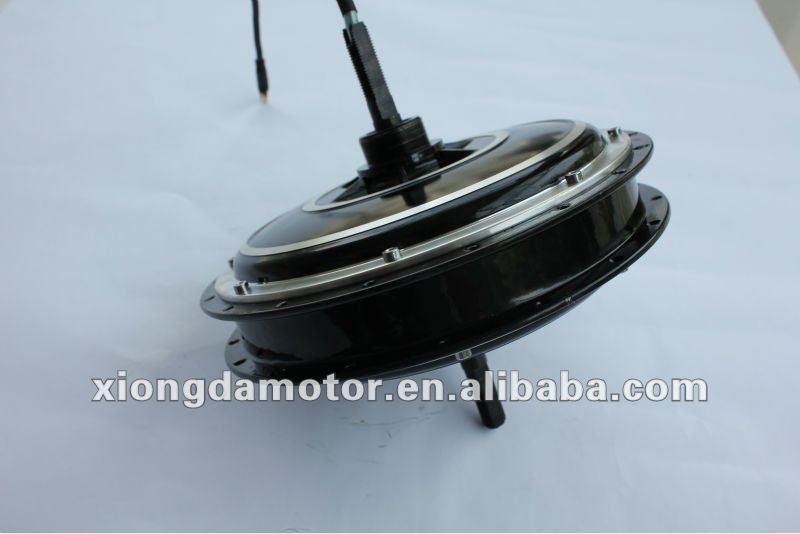 Brushless Low-speed Electric Bike Motor/Electric Bicycle Rear Spoke Wheel Hub Motor