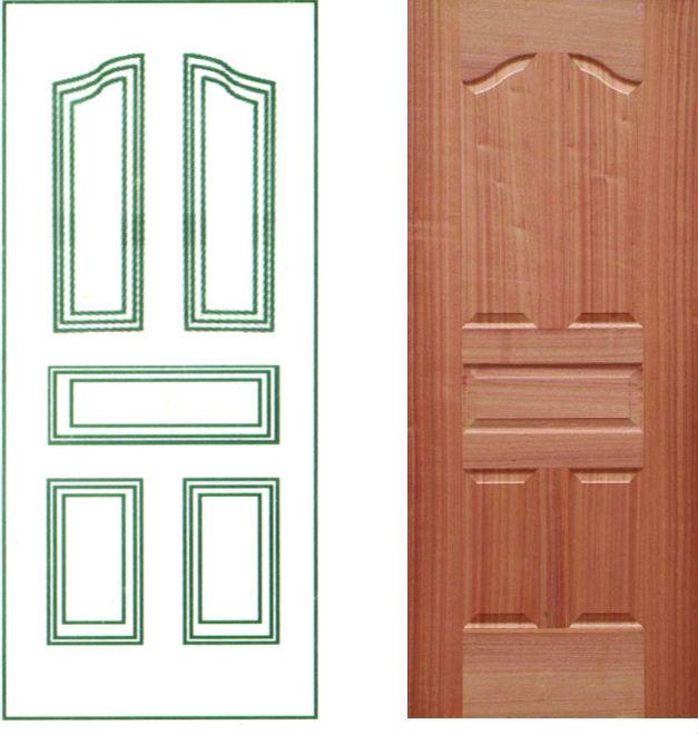 Cheap classic teak wood interior door buy teak wood door for Door design laminate