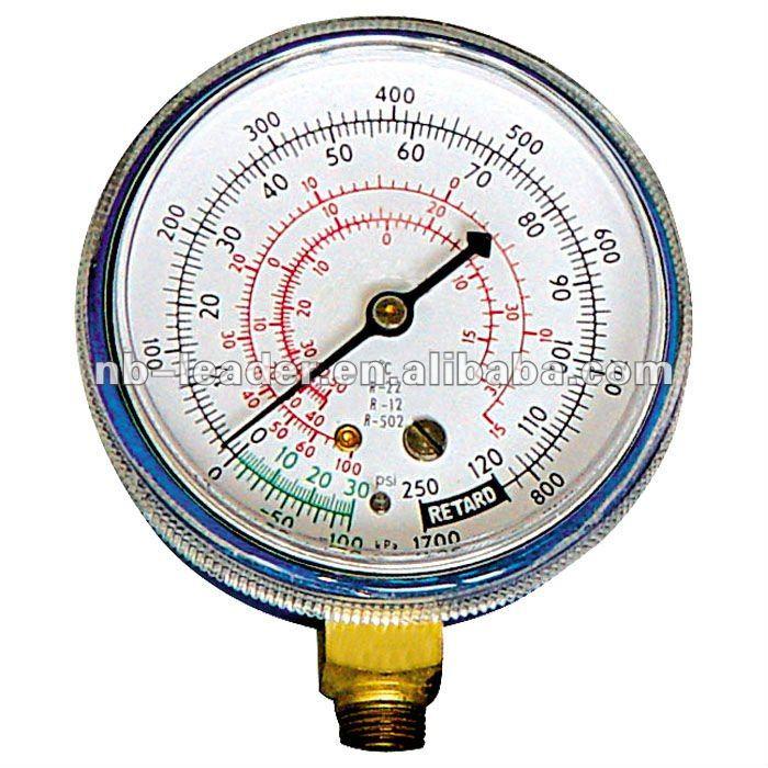 Refrigeration Pressure Gauge Set Manifold Gauge Manometer