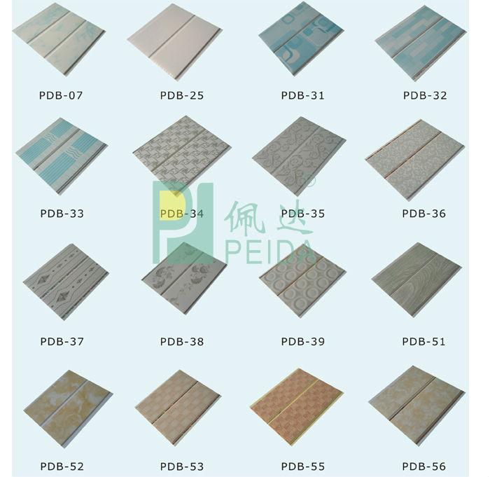 Ceiling tiles pvc