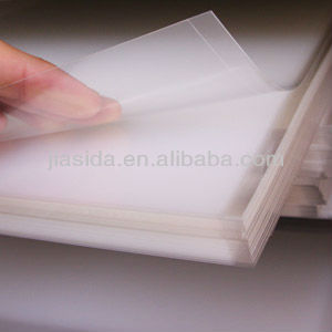 0.075mm Clear Frosted Polycarbonate Film for Printing