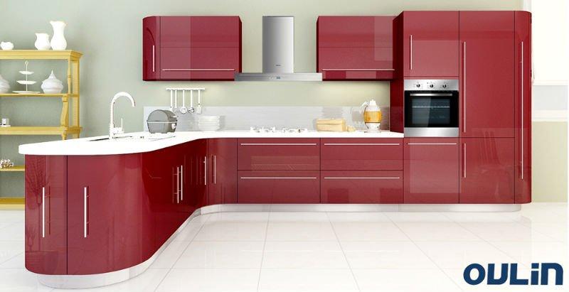Fashion Design European Modern Kitchen Cabinet View European Style Kitchen Cabinet Oulin