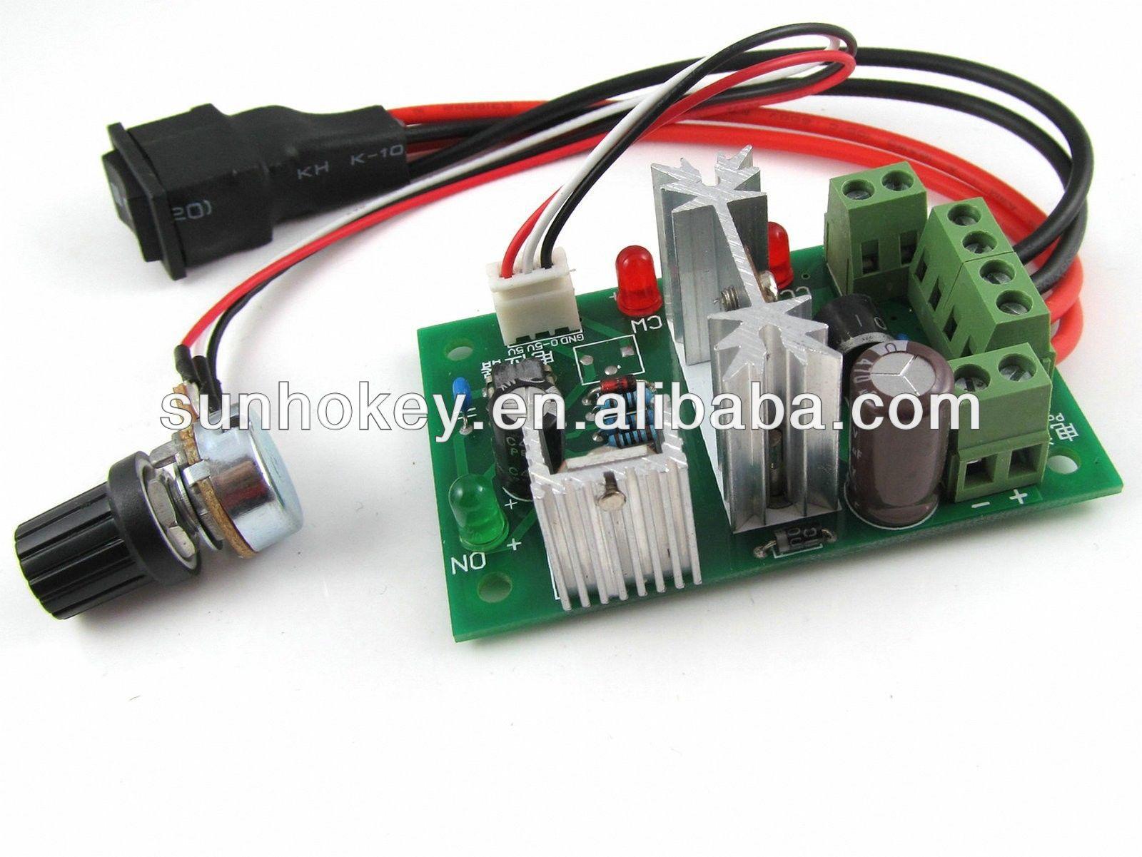 Ccm6n Dc Motor Speed Regulator 6v 12v 24v 30v Reversing