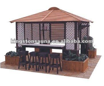 Wooden gazebo canopy home and garden buy wooden gazebo - Gazebos de madera ...