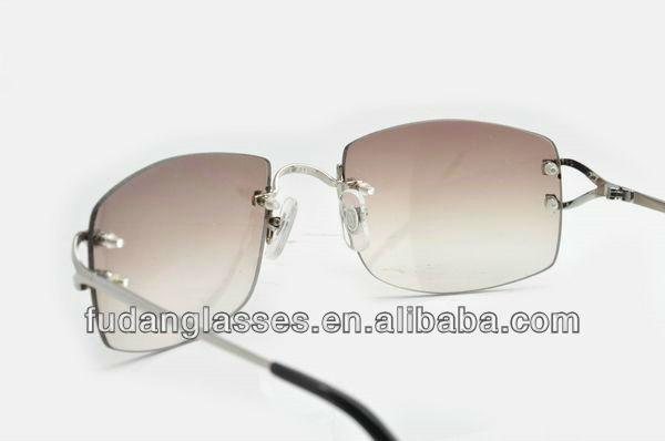 Best Quality Ct 2804390 Sg Silver Square Lens Frames ...
