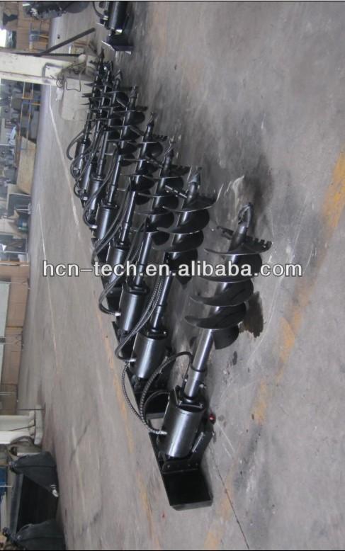 Bobcat skid steer loader auger for sale buy bobcat auger for Hydraulic auger motor for sale