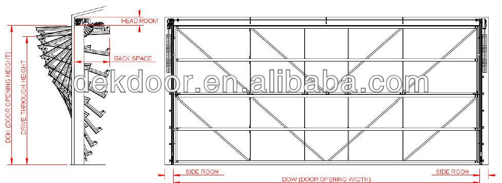 shopping mall vertical lifitng bi folding doors   buy