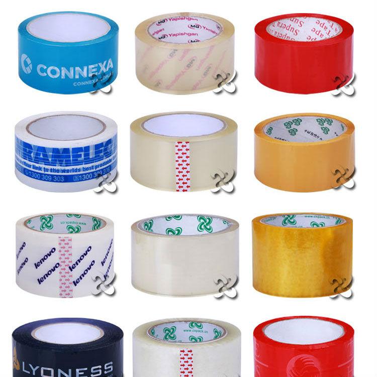 custom measuring and super clear tape , bopp carton sealing tape