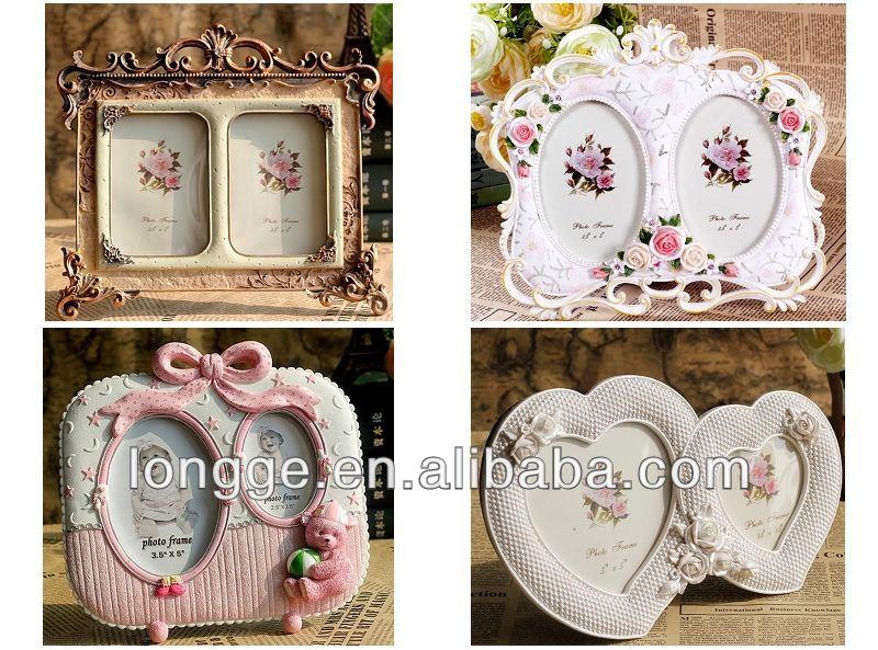 Wholesale Shabby Chic Home Decor White Baroque Photo Frame
