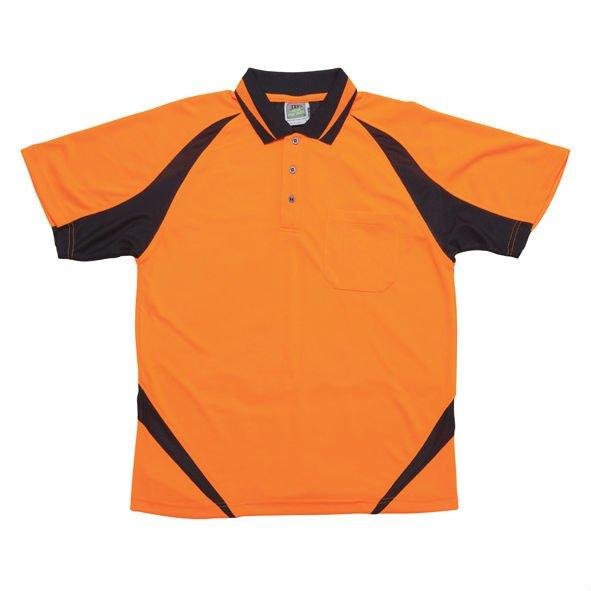 High Visibility Short Sleeve Breathable Polo Shirt Buy