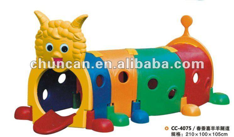 Kids Plastic Caterpillar Tunnel Toy Kid Plastic Play