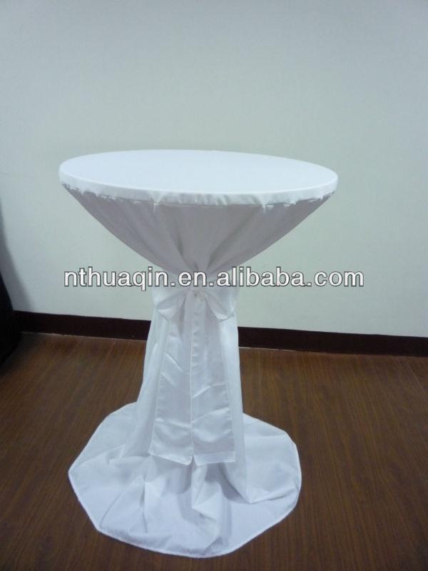 Scuba Bistro Table Cover Polyester Highboy Tablecloth