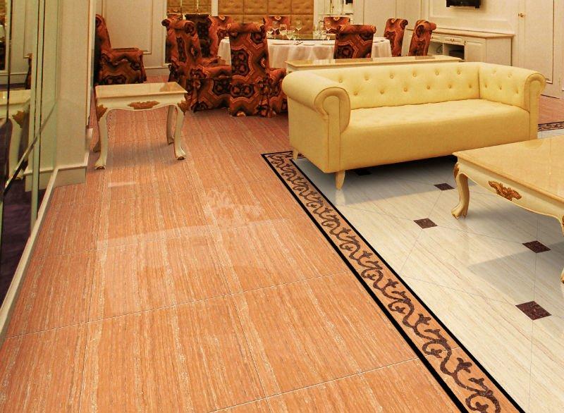 Porcelain tile floor designs