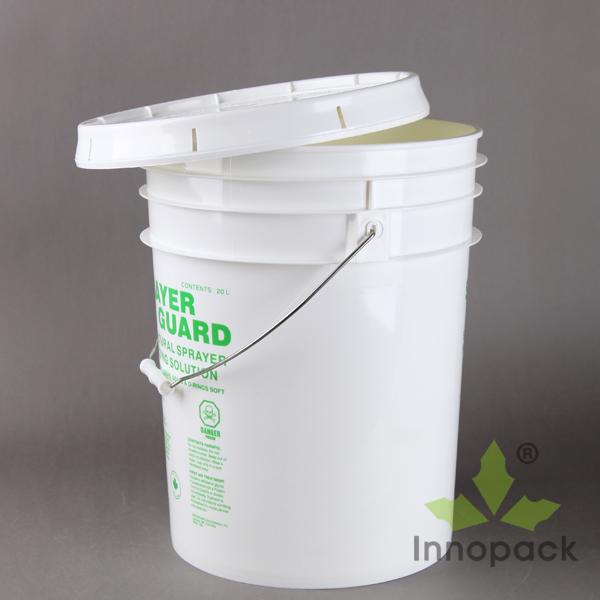 5 Gallon Virgin Pp White Plastic Paint Buckets For Paint Wholesale Buy Plastic Buckets