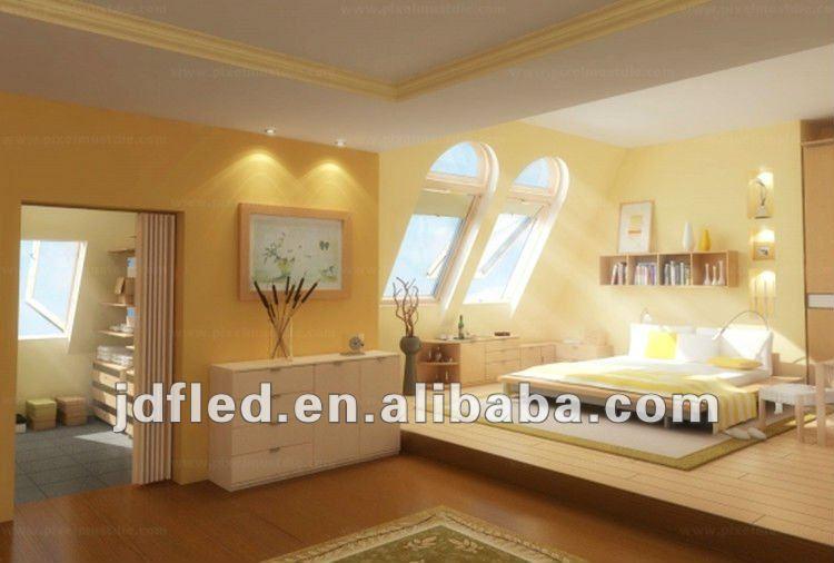 soft light warm white polished 1w bedroom led ceiling