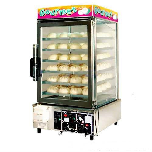 Electric Bun Warmer ~ Electric bun steamer bread hot warmer