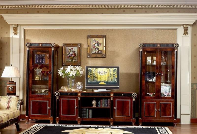 High End Classical Wood 0010 Single Showcase Buy Wood Showcase Designs Lcd Tv Showcase Designs