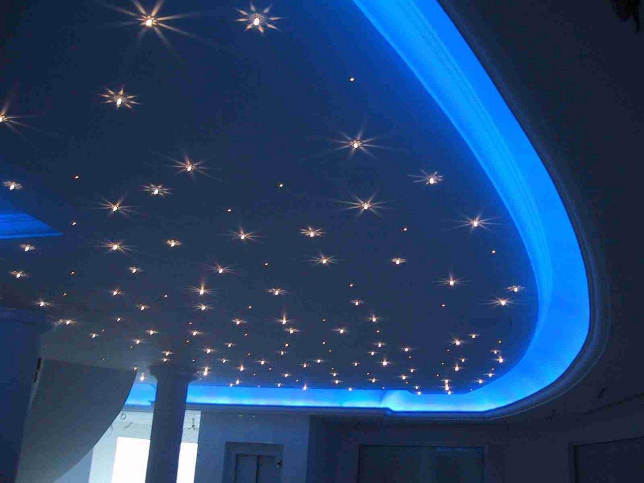 Как из светодиодов сделать звёздное небо