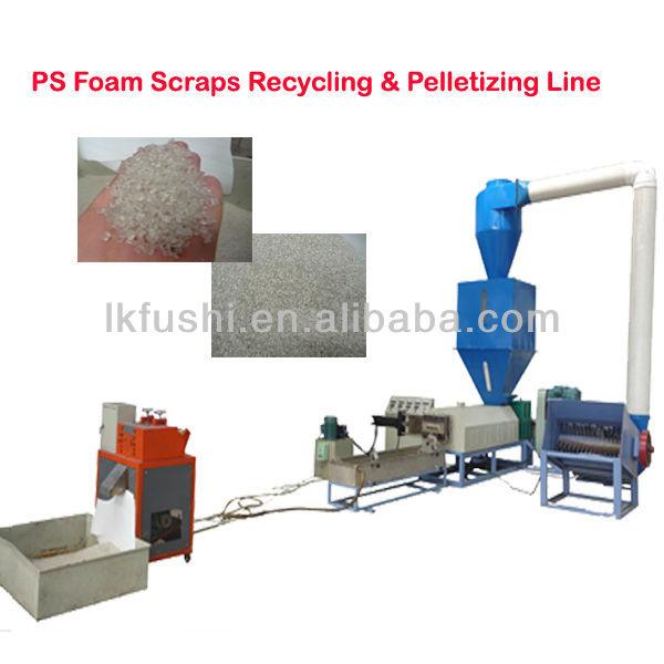ps foam plastic machine