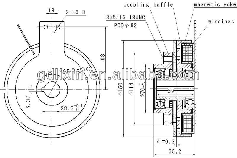 515609 new pto electromagnetic clutch meyer buyers salt