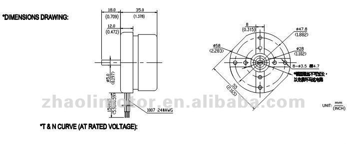 12v 24v high rpm brushless dc fan motor for air conditioner motor  view 12v 24v dc motor  zhaoli