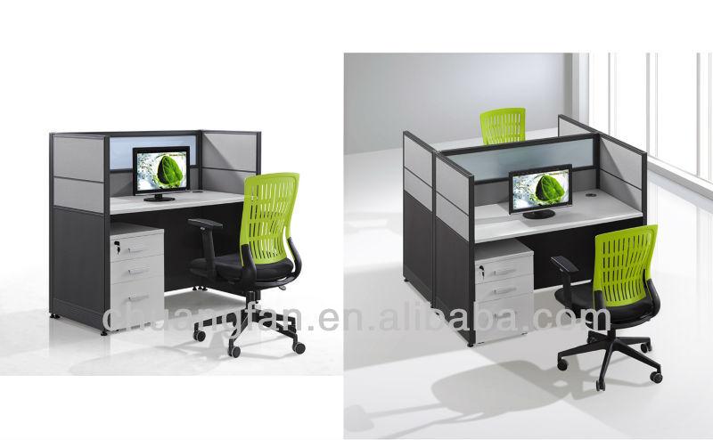 Cf standard size modern design office workstation for Cubiculos de oficina