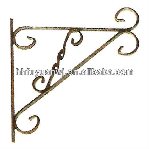 Galvanized Metal Wall Hanging Blossom Basket Hooks Buy