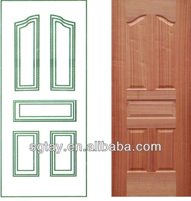 Mahogany Veneer Door Skin Wood Veneer Door Skin From