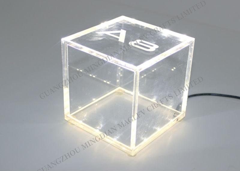 Acrylic Light Box Display : Acrylic logo light box display new design plexi led sign