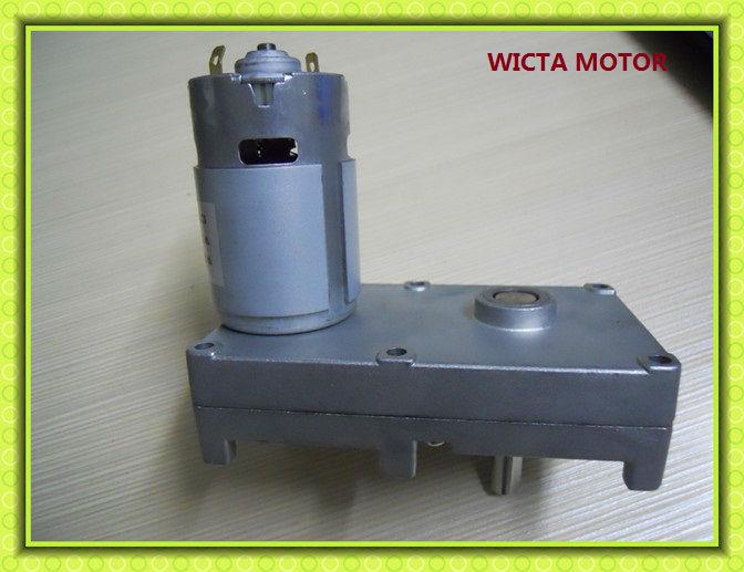 High Torque Low Rpm Dc Motor 24v 12v Dc Gear Motor View