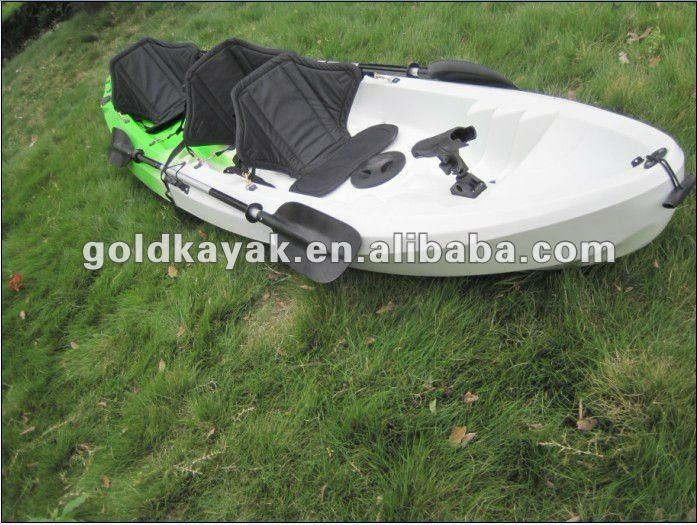 Kayak family for 3 seaters buy family kayak 2 1 fishing for Two seater fishing kayak