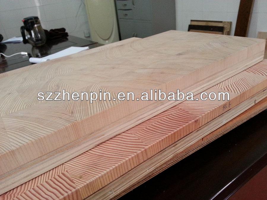 Reclaimed Larch Wood Hemlock End Grain Wood Flooring