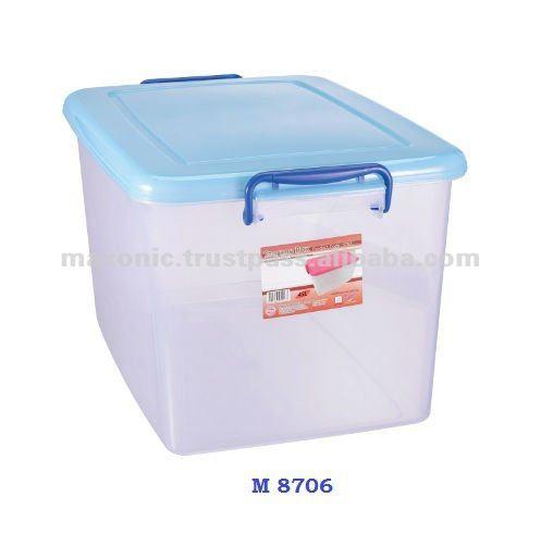 plastic storage box 30 litre buy hard plastic storage. Black Bedroom Furniture Sets. Home Design Ideas