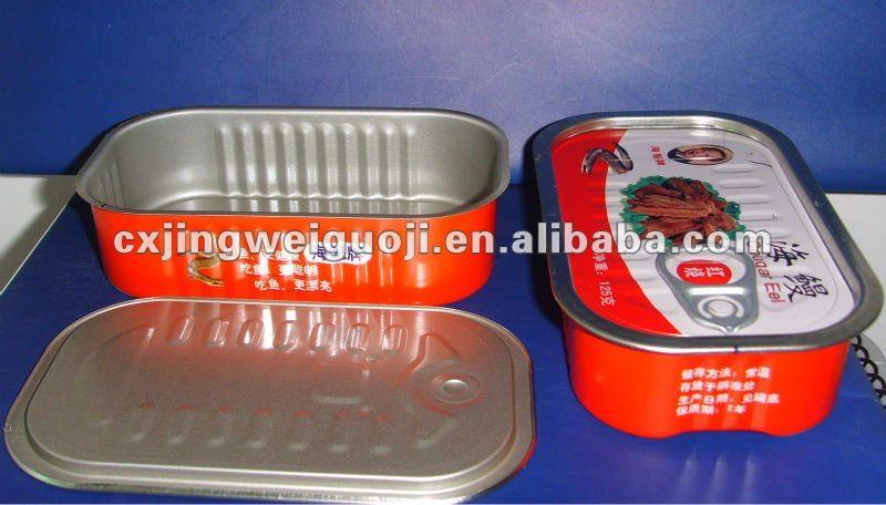 Empty sardine 1 4 club can and sardine fish can lid buy Empty sardine cans