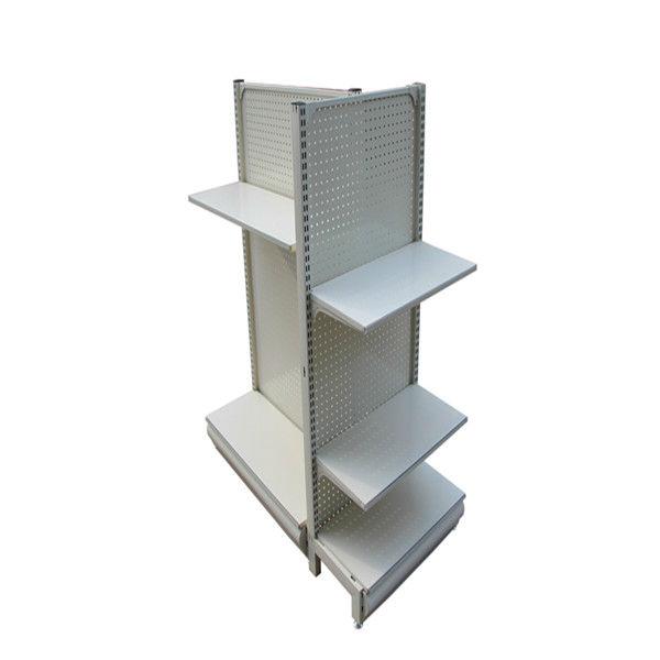 metal free standing display shelves for retail stores hsx. Black Bedroom Furniture Sets. Home Design Ideas