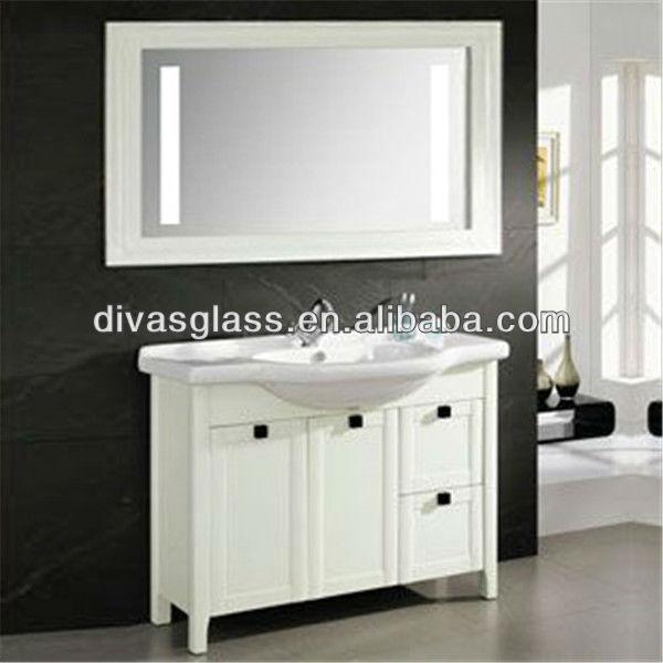Bathroom Mirror Full Framed Led With Light Inside