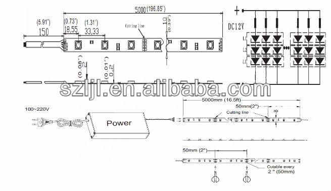 21 leds 50cm 2835 smd led rigid bar 5 04w ce rohs buy smd led rigid bar 2835 smd led